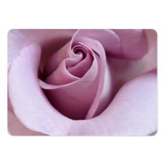 Purple Rose Wedding Photo Business Card Template