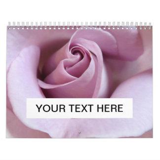 Purple Rose Wedding Photo Calendars