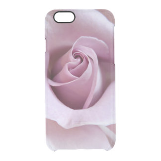 Purple Rose Wedding Photo Clear iPhone 6/6S Case