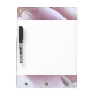 Purple Rose Wedding Photo Dry Erase Board