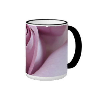 Purple Rose Wedding Photo Mug