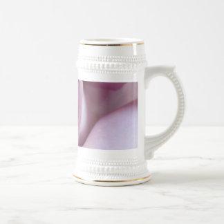 Purple Rose Wedding Photo Coffee Mugs