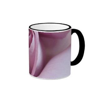 Purple Rose Wedding Photo Coffee Mug