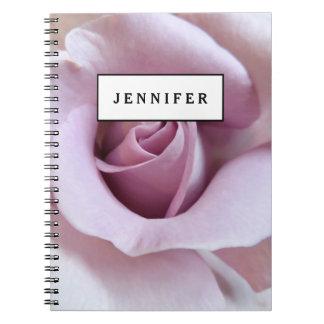 Purple Rose Wedding Photo Notebooks