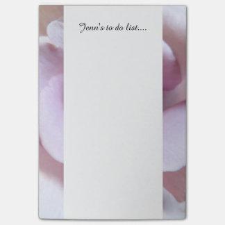 Purple Rose Wedding Photo Post-it® Notes