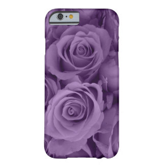purple roses barely there iPhone 6 case