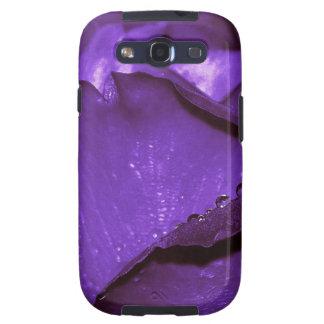 Purple Roses Flower Galaxy SIII Cases