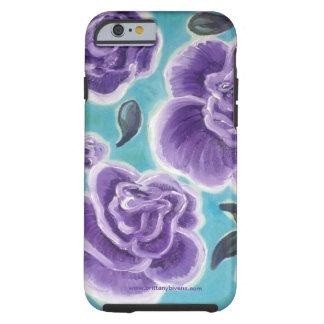 Purple Roses Tough iPhone 6 Case