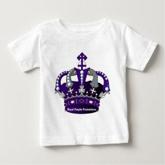 Purple Royal Crown Baby T-Shirt