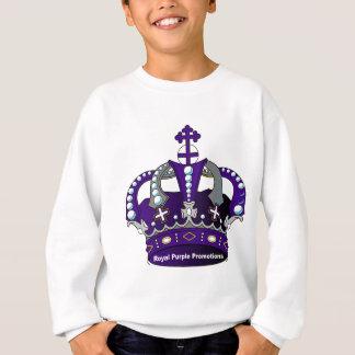 Purple Royal Crown Sweatshirt