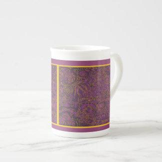 Purple Royal Tea Cup