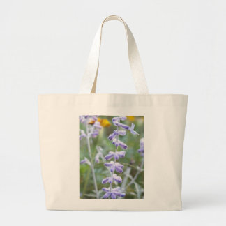 Purple Russian Sage -Pervoskia Large Tote Bag
