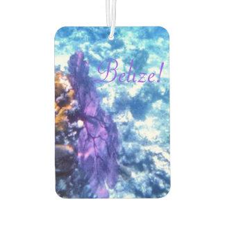 Purple Sea Fan Car Air Freshener