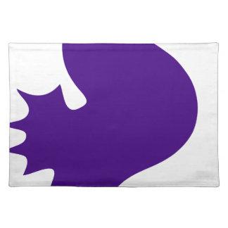 Purple Seahorse Placemat