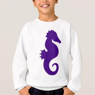 Purple Seahorse Sweatshirt
