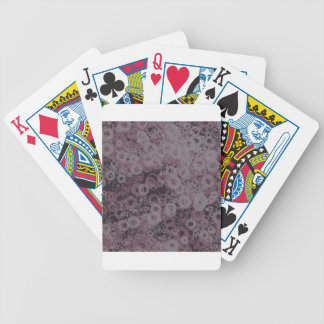 Purple seamless bicycle playing cards
