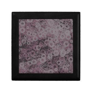 Purple seamless gift box