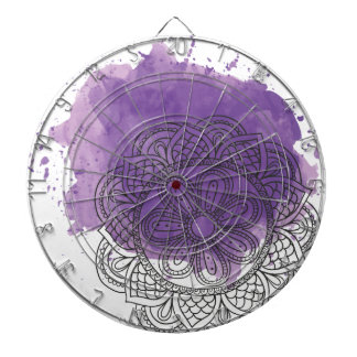 Purple sends it dartboard