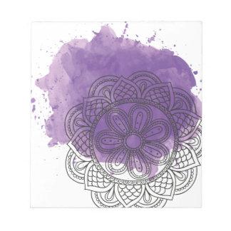 Purple sends it notepad