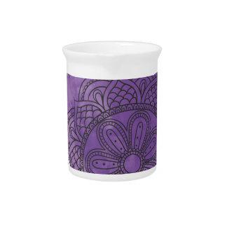 Purple sends it pitcher