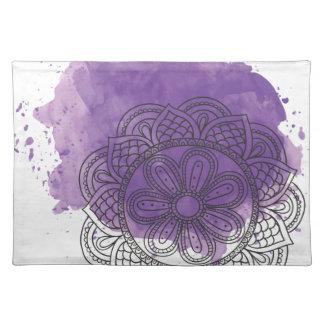 Purple sends it placemat