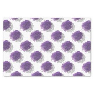 Purple sends it tissue paper