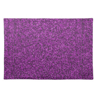 Purple Sequins Placemat