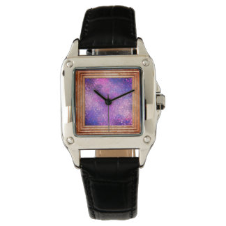 Purple Sequins Watch
