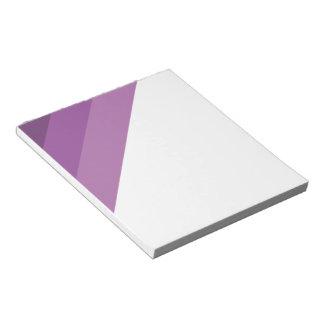Purple Shades simple & sleek Notepads