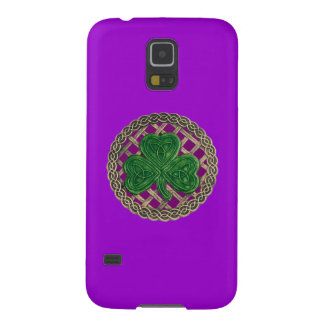 Purple Shamrock Celtic Knots Galaxy Nexus Case
