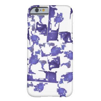 Purple Shapes iPhone 6/6s Case