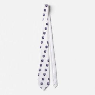 Purple Shield PIVX Tie