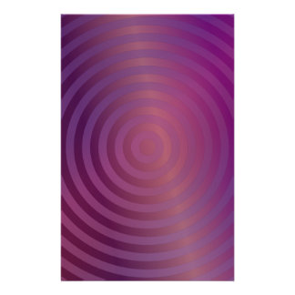 Purple shiny circles flyer