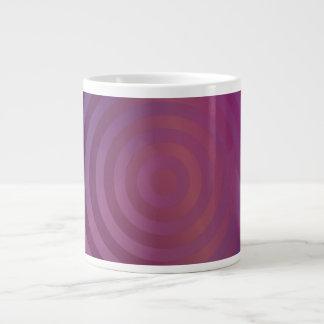 Purple shiny circles jumbo mug