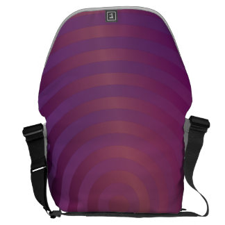Purple shiny circles courier bags