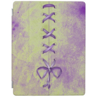Purple Shoe Laces iPad Cover