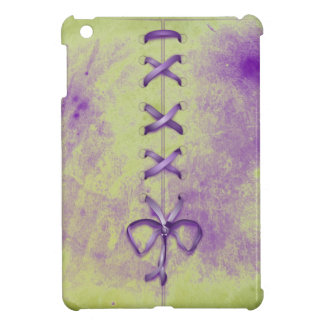 Purple Shoe Laces iPad Mini Cover