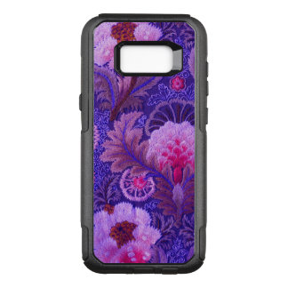 Purple Silk Embroidery OtterBox Commuter Samsung Galaxy S8+ Case