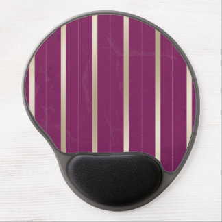 Purple Silver Stripes Gel Mousepads Gel Mouse Mats