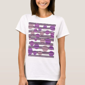 Purple simple pattern T-Shirt