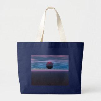 Purple Skies Tote Bags
