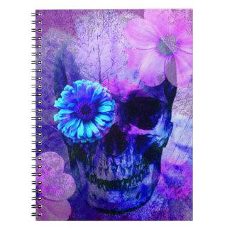 Purple Skull Notebook