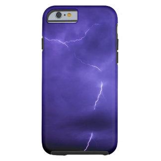 Purple Sky Lightening iPhone 6 Case