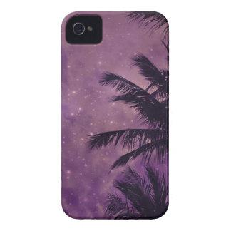 Purple Sky Palm iPhone 4 Cover
