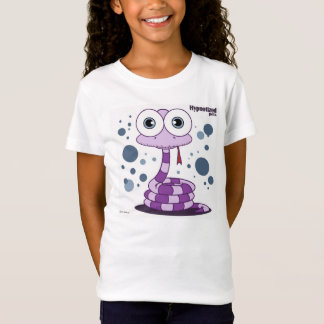 Purple Snake Girls' Bella Fitted Babydoll T-Shirt