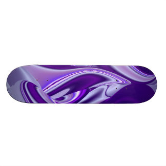 Purple Snow Dream , Abstract Fantasy Rainbow-Art Skate Board Decks