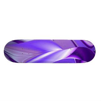 Purple Snow Dream , Abstract Fantasy Rainbow-Art Skate Board