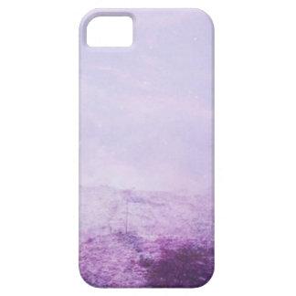 Purple snow iPhone 5 cover