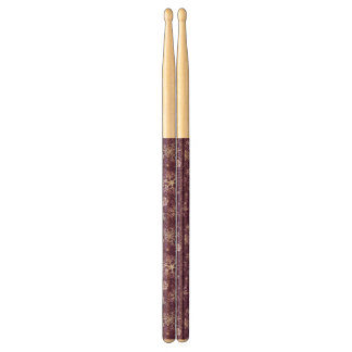 Purple Snowflakes for Chronic Pain Drumsticks