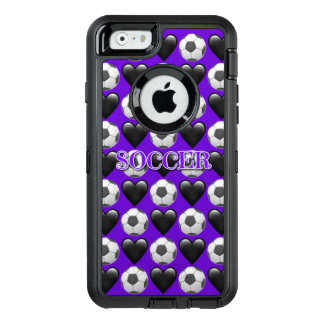 Purple Soccer iPhone 6/6s Otterbox Case